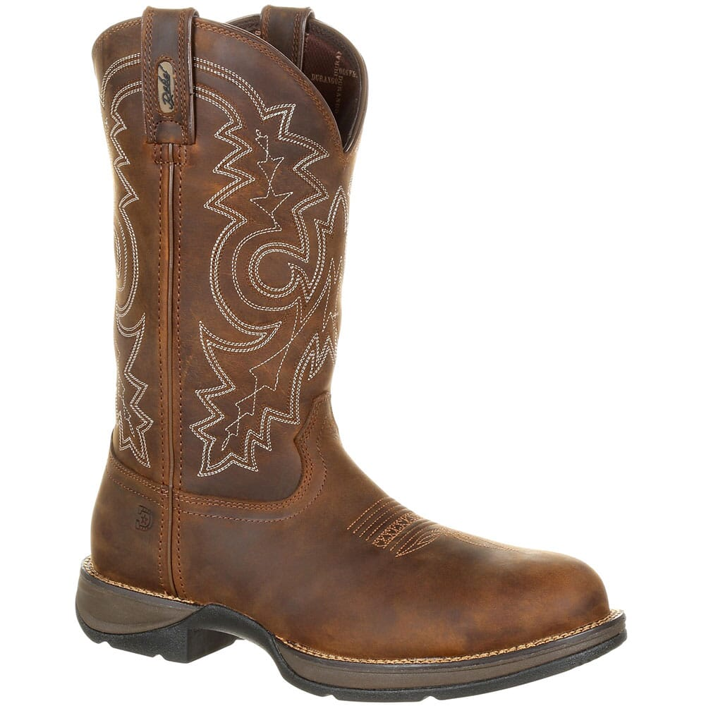 Image for Durango Men's WP Western Safety Boots - Coyote Brown from bootbay