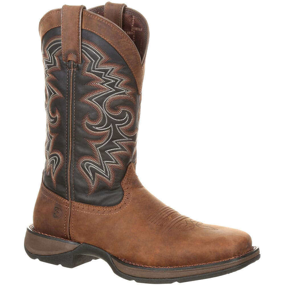 Image for Durango Men's Pull-On Western Boots - Chocolate/Midnight from bootbay