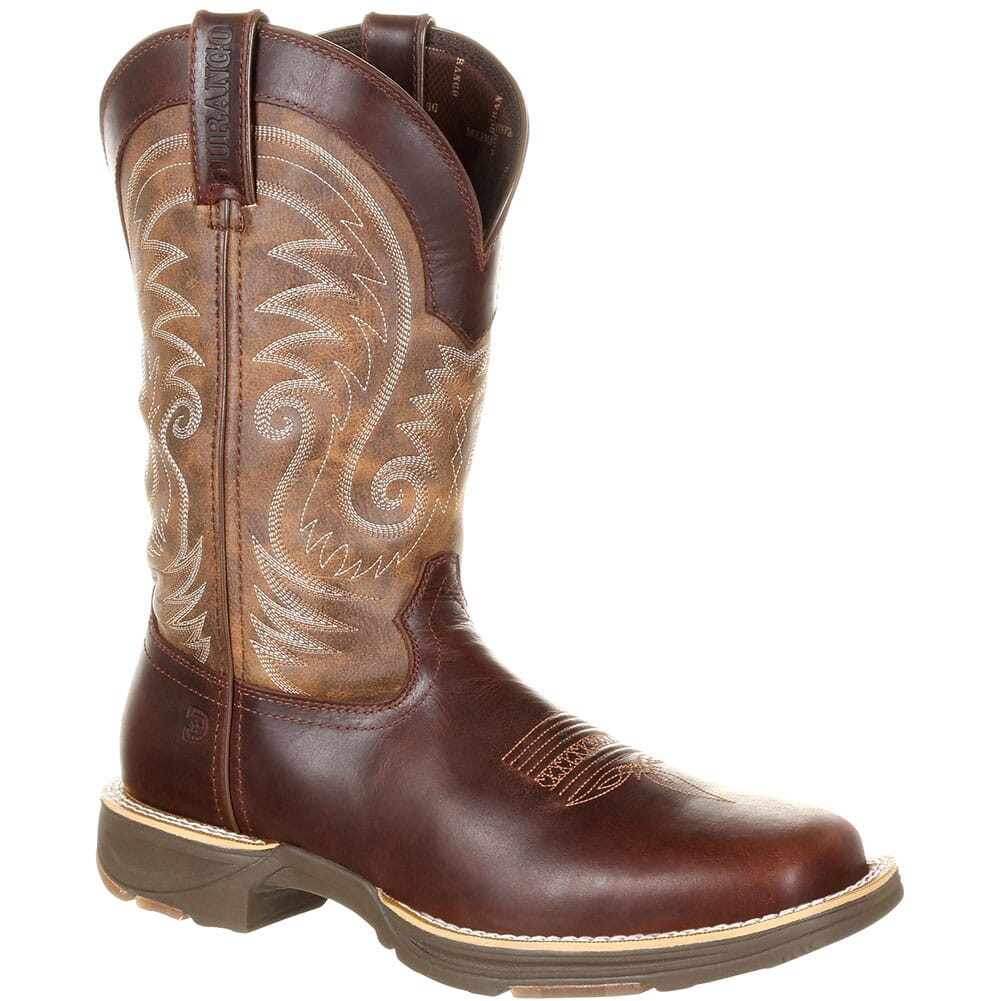 Image for Durango Men's Ultralite WP Western Boots - Brown from bootbay