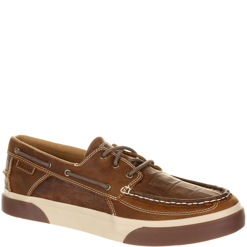 Image for Durango Music City Men's Gator Emboss Boat Shoes - Gator Emboss Grand Ol from bootbay