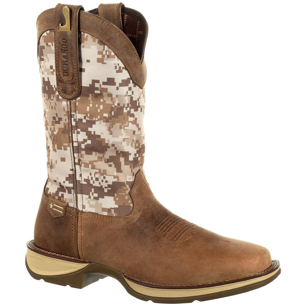 Image for Durango Men's Desert Camo Western Boots - Dusty Brown/Desert Camo from bootbay