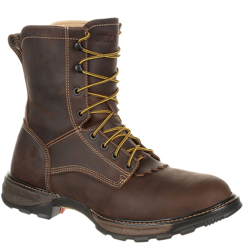 Image for Durango Men's Maverick XP WP Lacer Safety Boots - Oiled Brown from bootbay