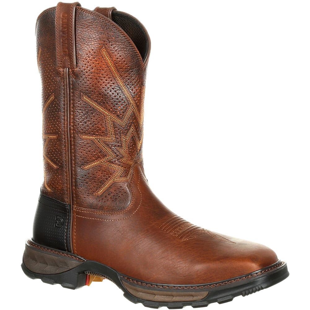 Image for Durango Men's Maverick XP Ventilated Safety Boots - Tobacco from bootbay