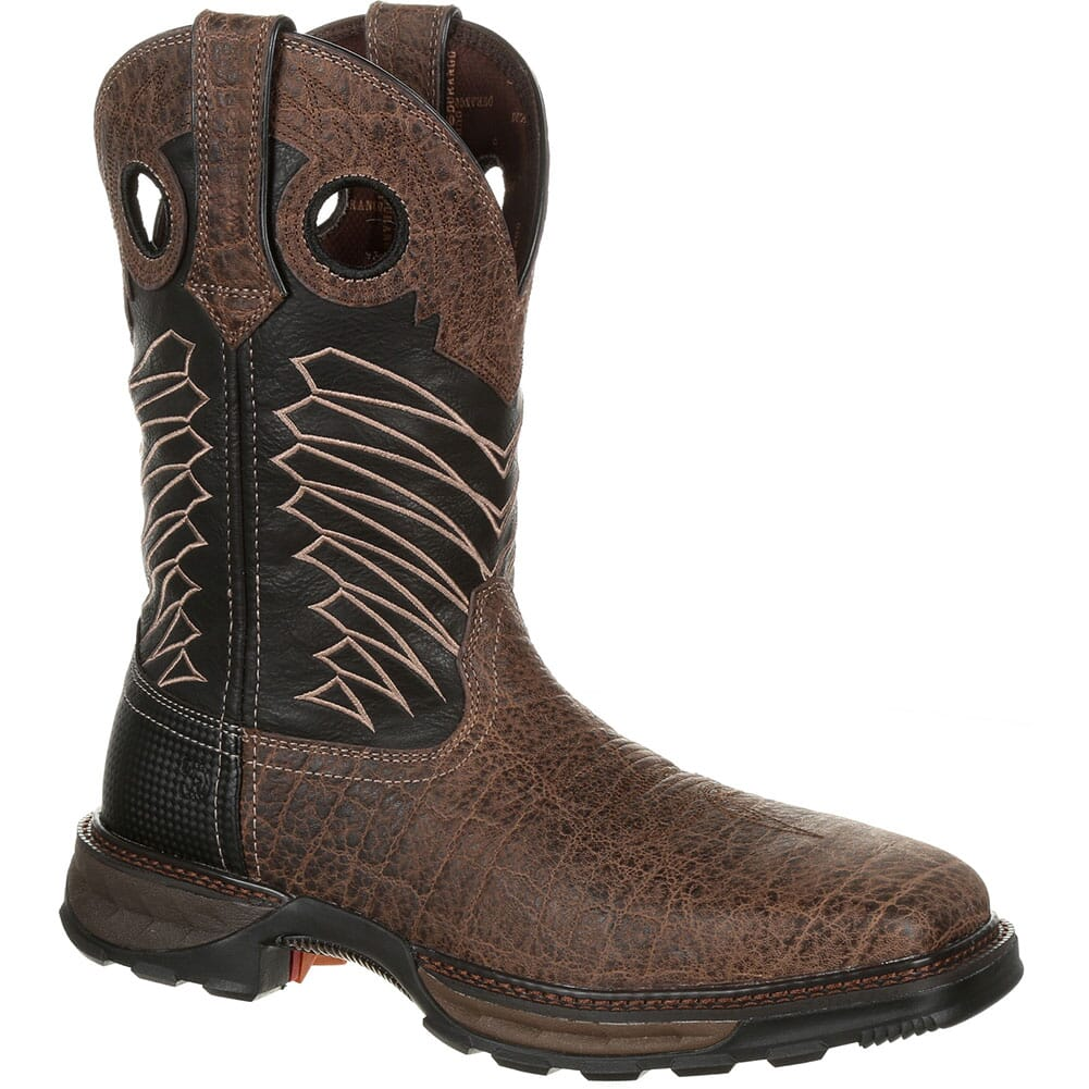 Image for Durango Men's Maverick XP ST Safety Boots - Chocolate Safari/Elephant Bl from bootbay