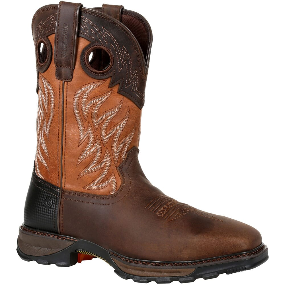 Image for Durango Men's Maverick XP WP Safety Boots - Rugged Brown/Copper from bootbay