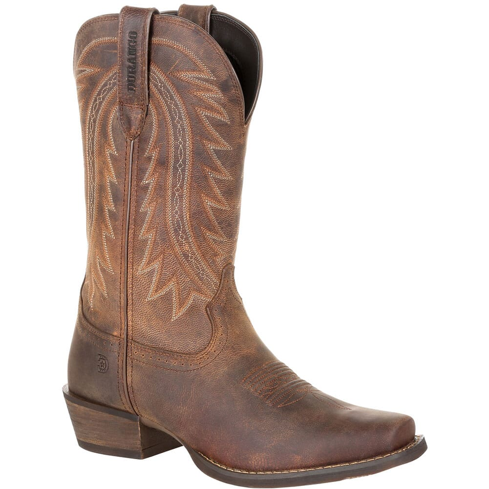 Image for Durango Men's Rebel Frontier Western Boots - Distressed Sunset Brown from bootbay