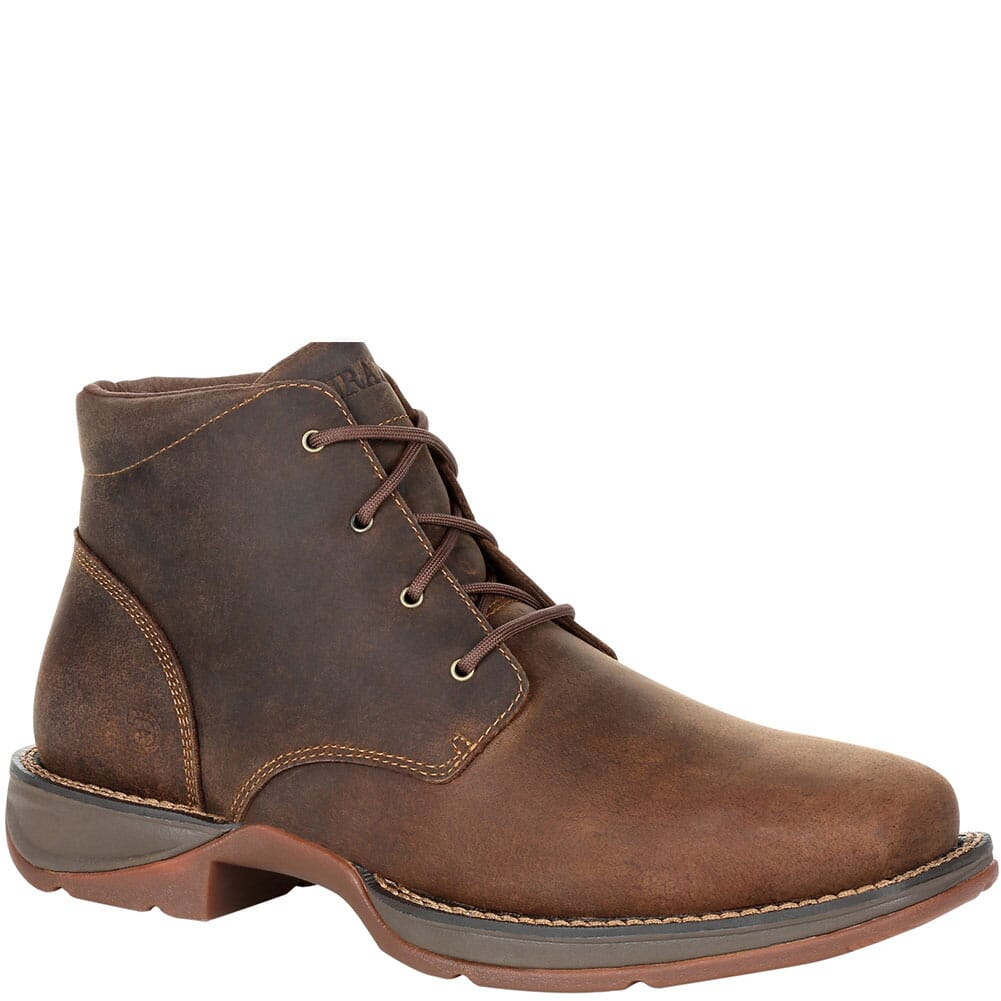 Image for Durango Men's Red Dirt Rebel Safety Chukka - Bark Brown from bootbay