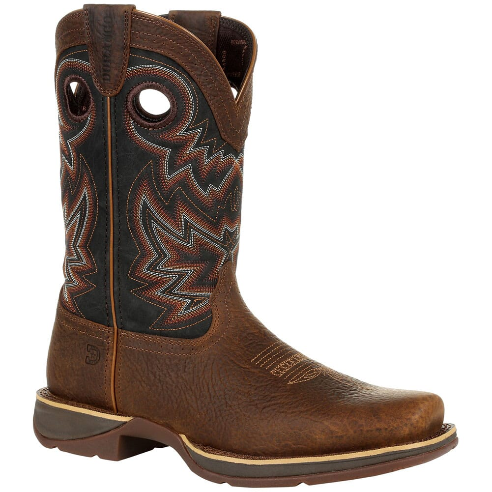 Image for Durango Men's Rebel Western Boots - Chocolate/Black Eclipse from bootbay