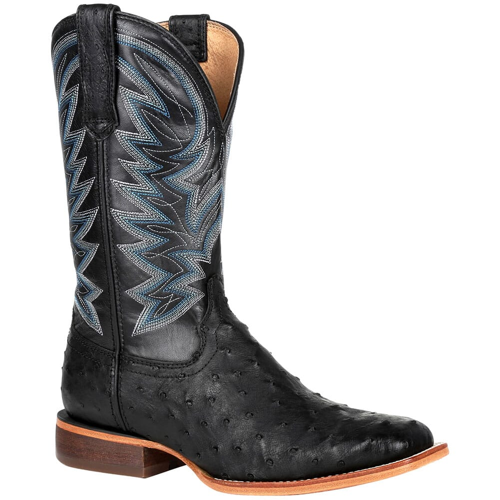 Image for Durango Men's Premium Exotic Western Boots - Black from bootbay