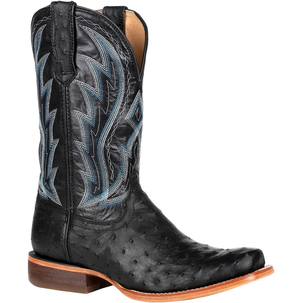 Image for Durango Men's Premium Exotic Western Boots - Midnight from bootbay