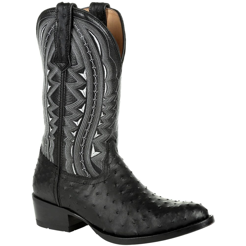 Image for Durango Men's Premium Exotic Western Boots - Ebony from bootbay