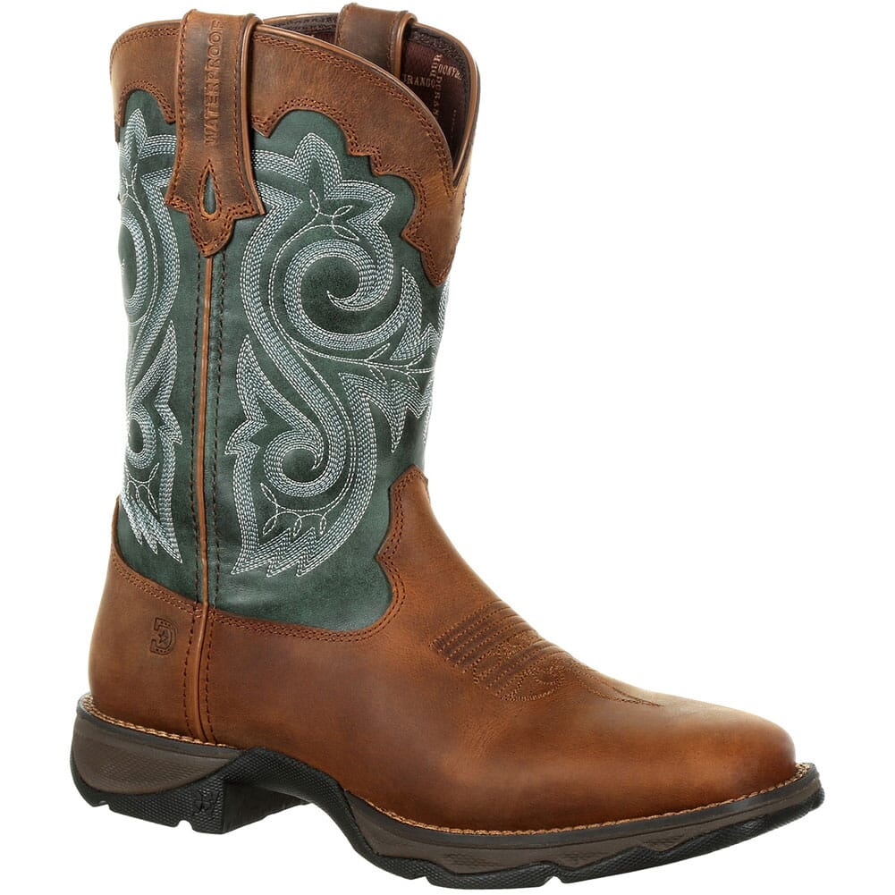 Image for Durango Women's Lady Rebel WP Western Boots - Brown Evergreen from elliottsboots