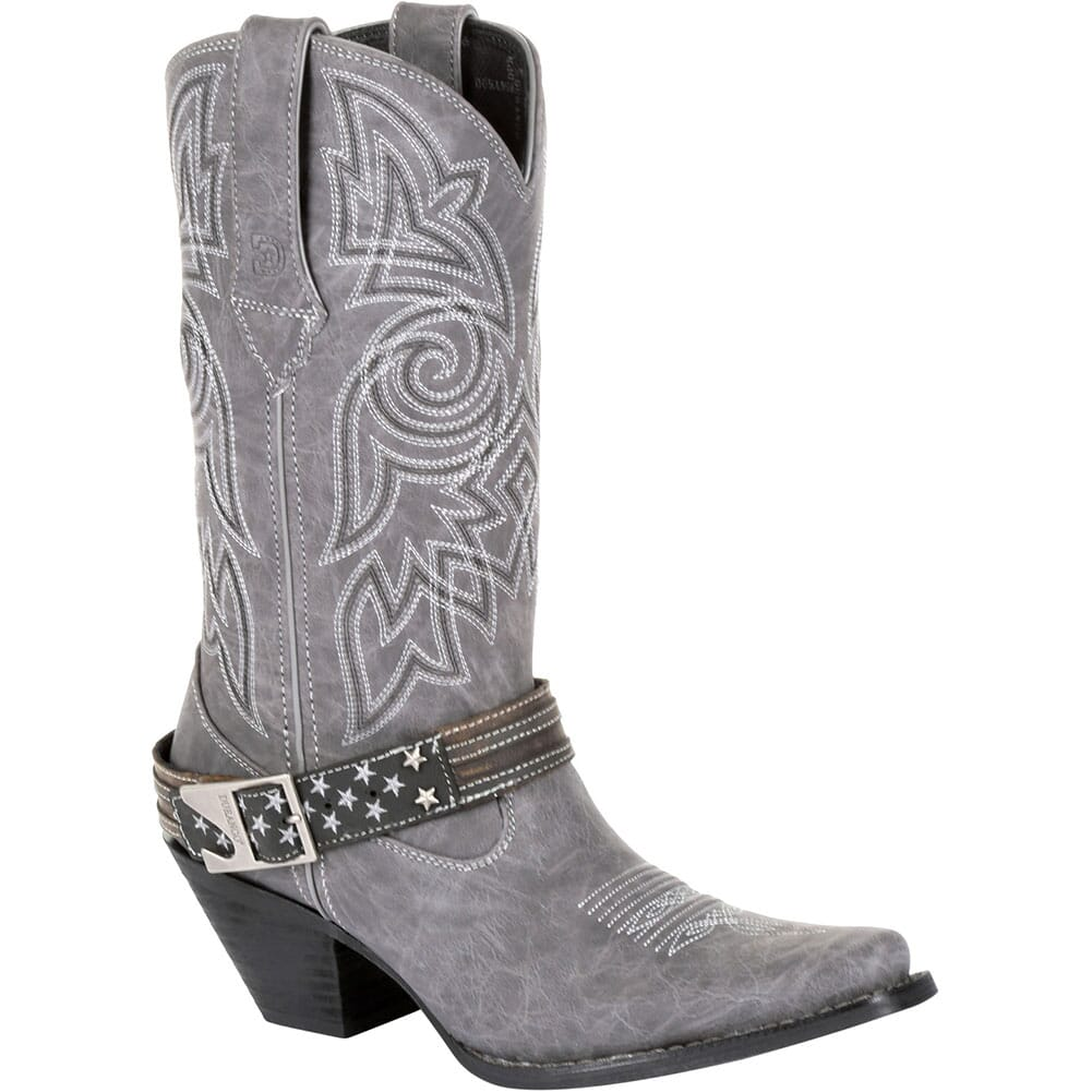 Image for Durango Women's Crush Flag Western Boots - Distressed Graphite from bootbay
