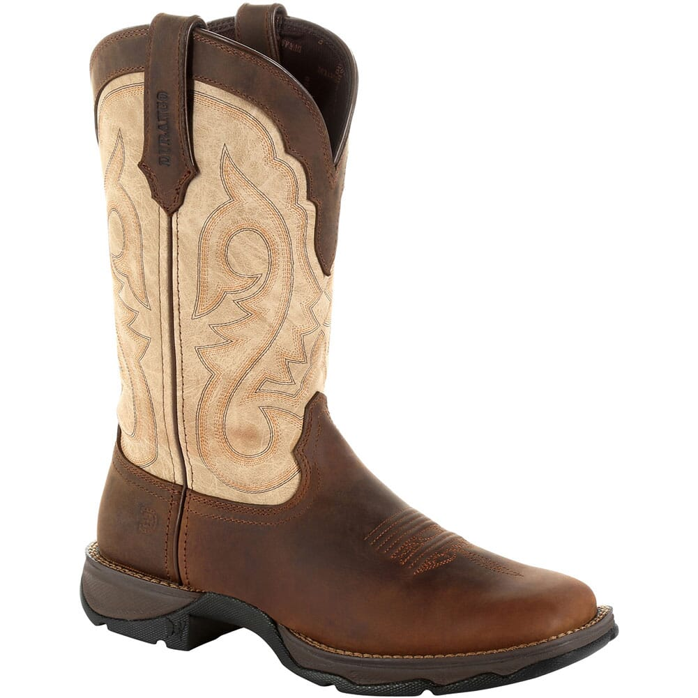 Image for Durango Women's Lady Rebel Western Boots - Bark Brown/Taupe from bootbay