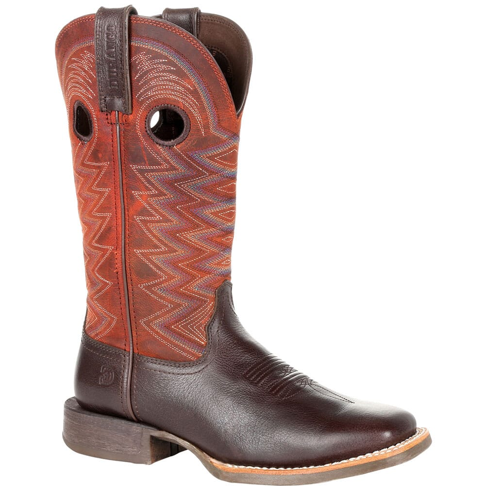 Image for Durango Women's Lady Rebel Pro Western Boots - Dark Chestnut/Crimson from elliottsboots