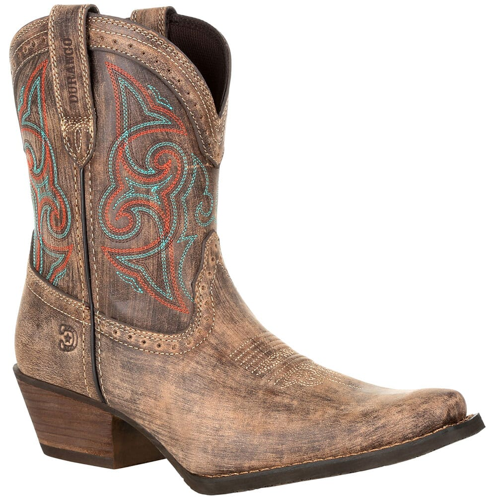 Image for Durango Women's Crush Shortie Western Boots - Driftwood Sunset from bootbay