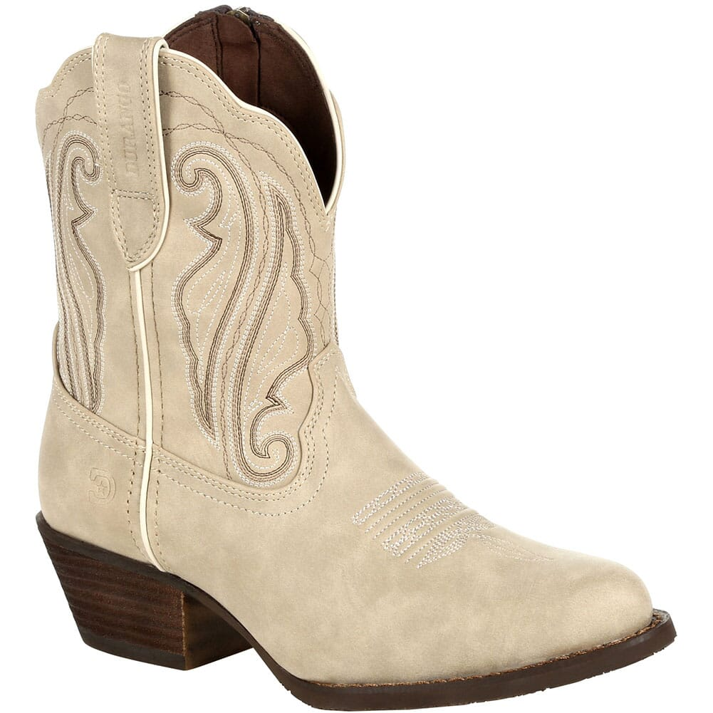 Image for Durango Women's Crush Shortie Western Boots - Taupe from elliottsboots