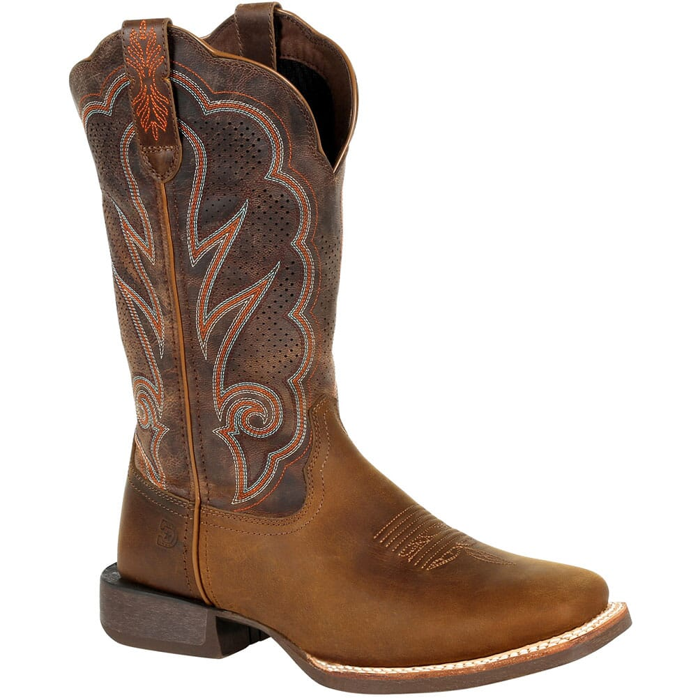 Image for Durango Women's Lady Rebel Pro Ventilated Western Boots - Distressed Cog from bootbay