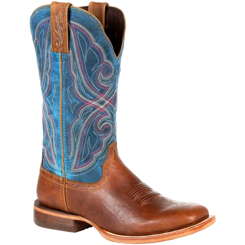 Image for Durango Women's Arena Pro Western Boots - Dark Bay/Caribbean Blue from elliottsboots