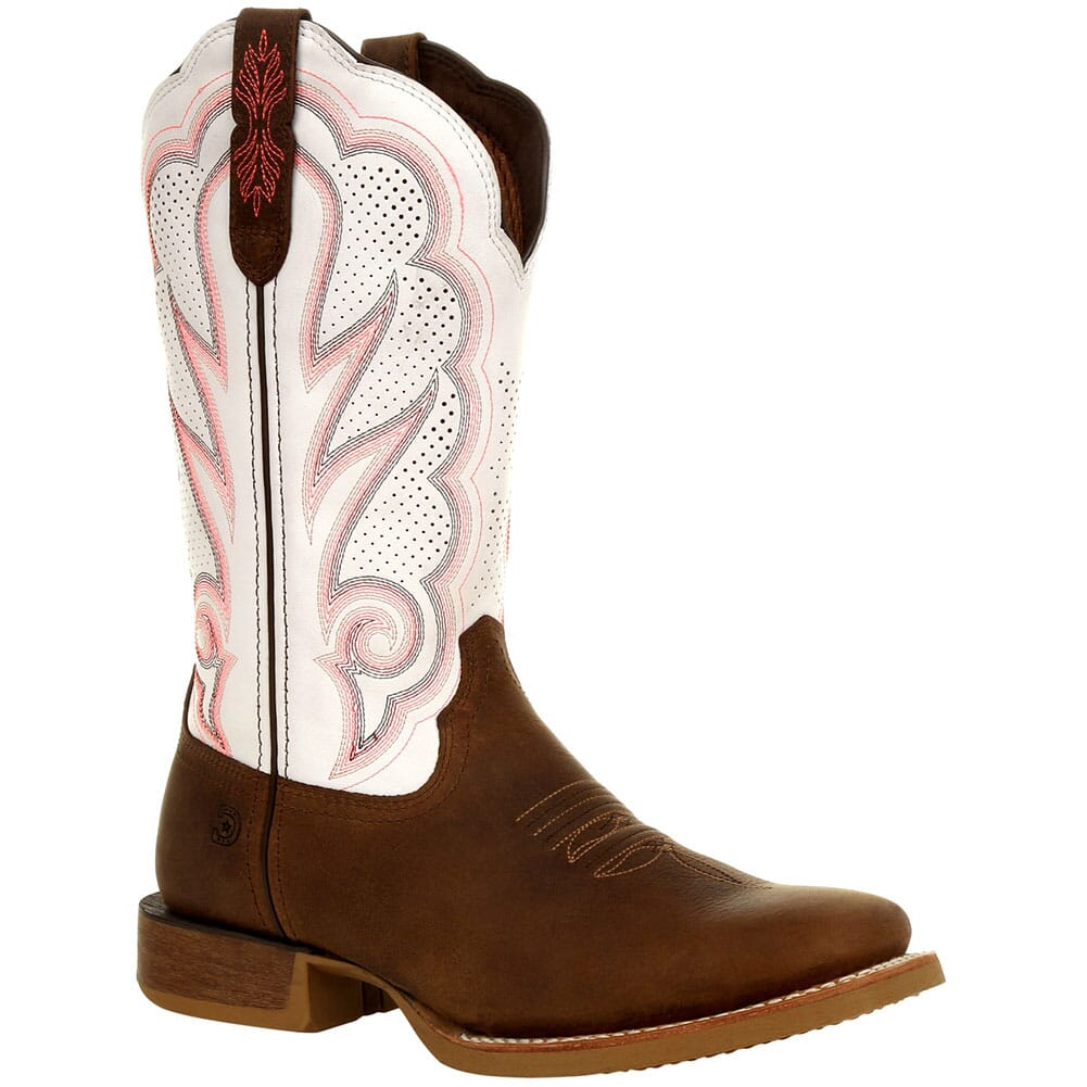 Image for Durango Lady Rebel Pro Women's Ventilated Western Boots - Trail Brown/Wh from bootbay
