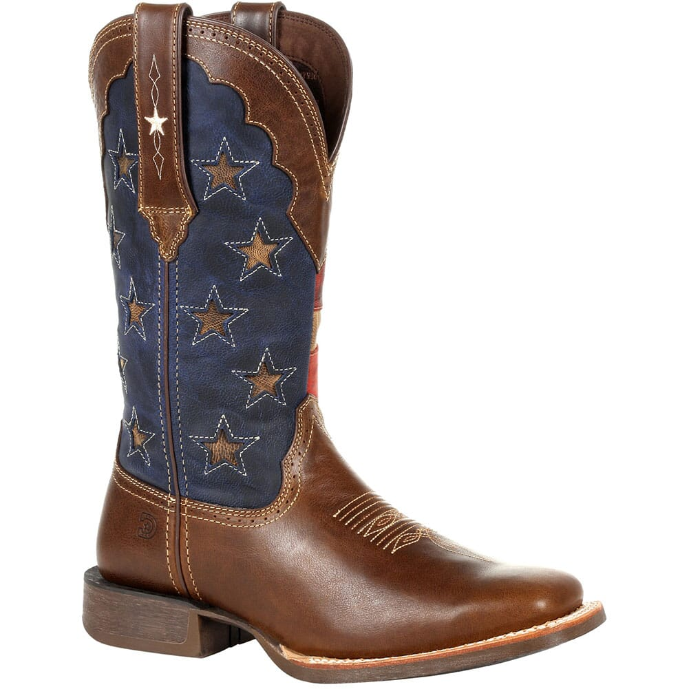 Image for Durango Women's Rebel Pro Vintage Flag Western Boots - Dark Chestnut from bootbay
