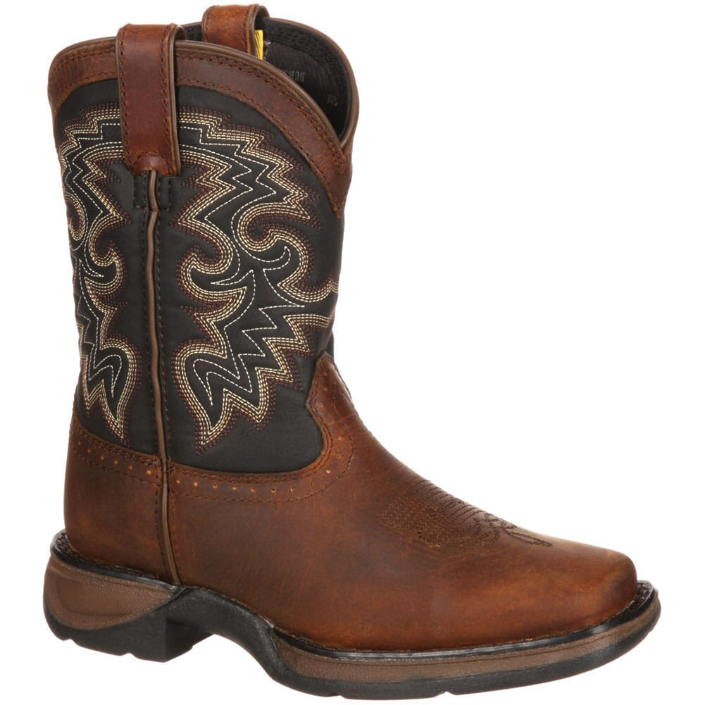 Image for Lil' Durango Big Kid Western Boots -  Tan/Black from bootbay