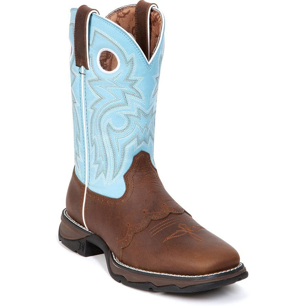 Image for Durango Women's Flirt Western Boots - Brown/Powder from bootbay