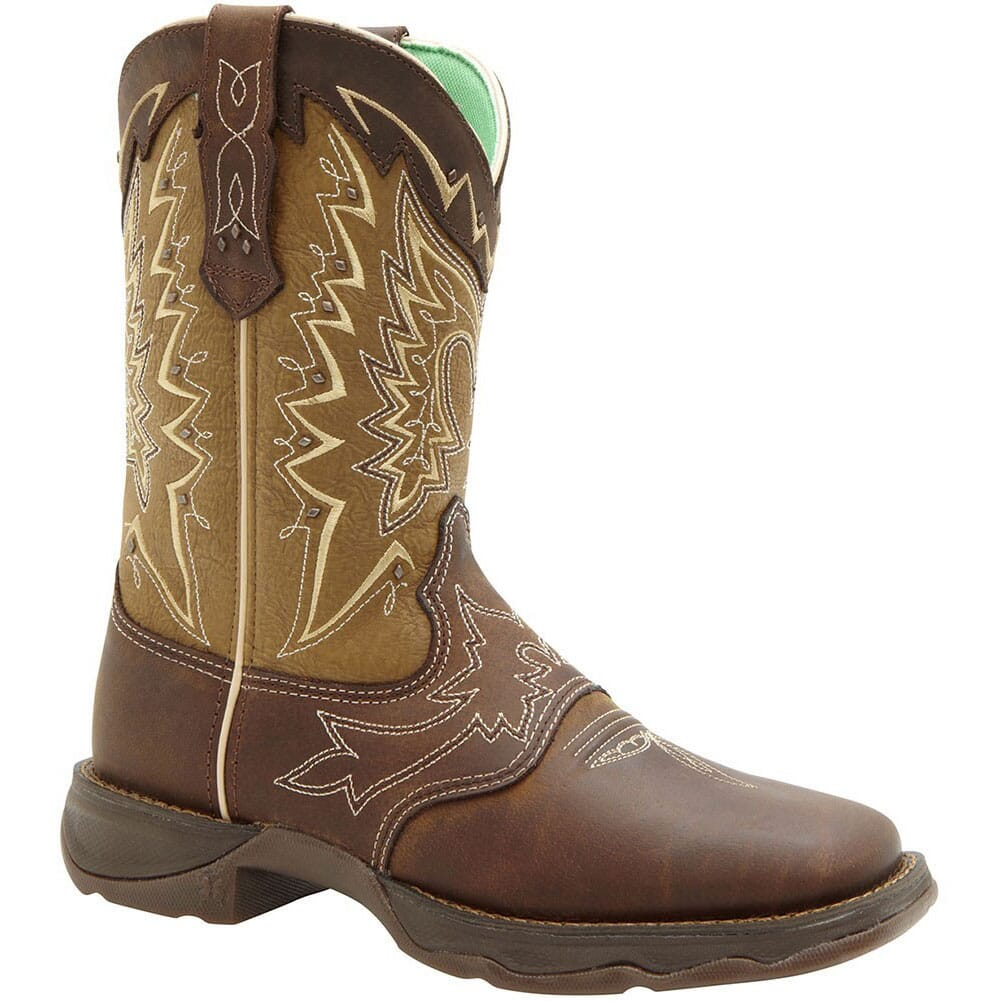 Image for Durango Women's Let Love Fly Western Boots - Brown from elliottsboots