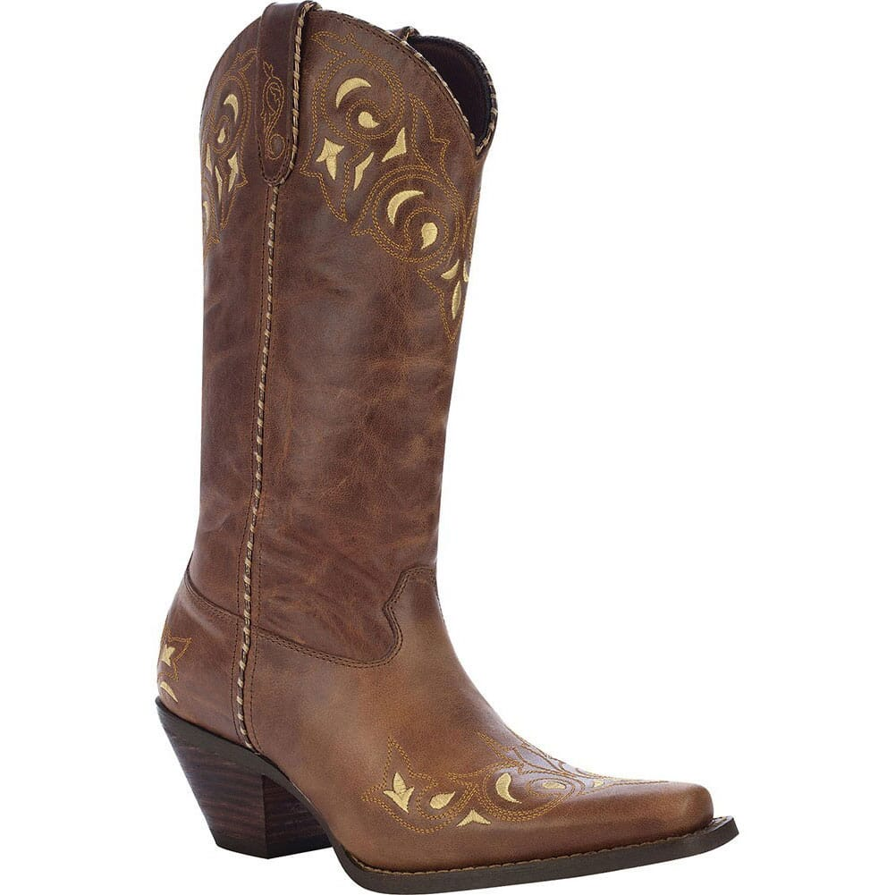 Image for Durango Women's Sew Sassy Western Boots - Brown from elliottsboots