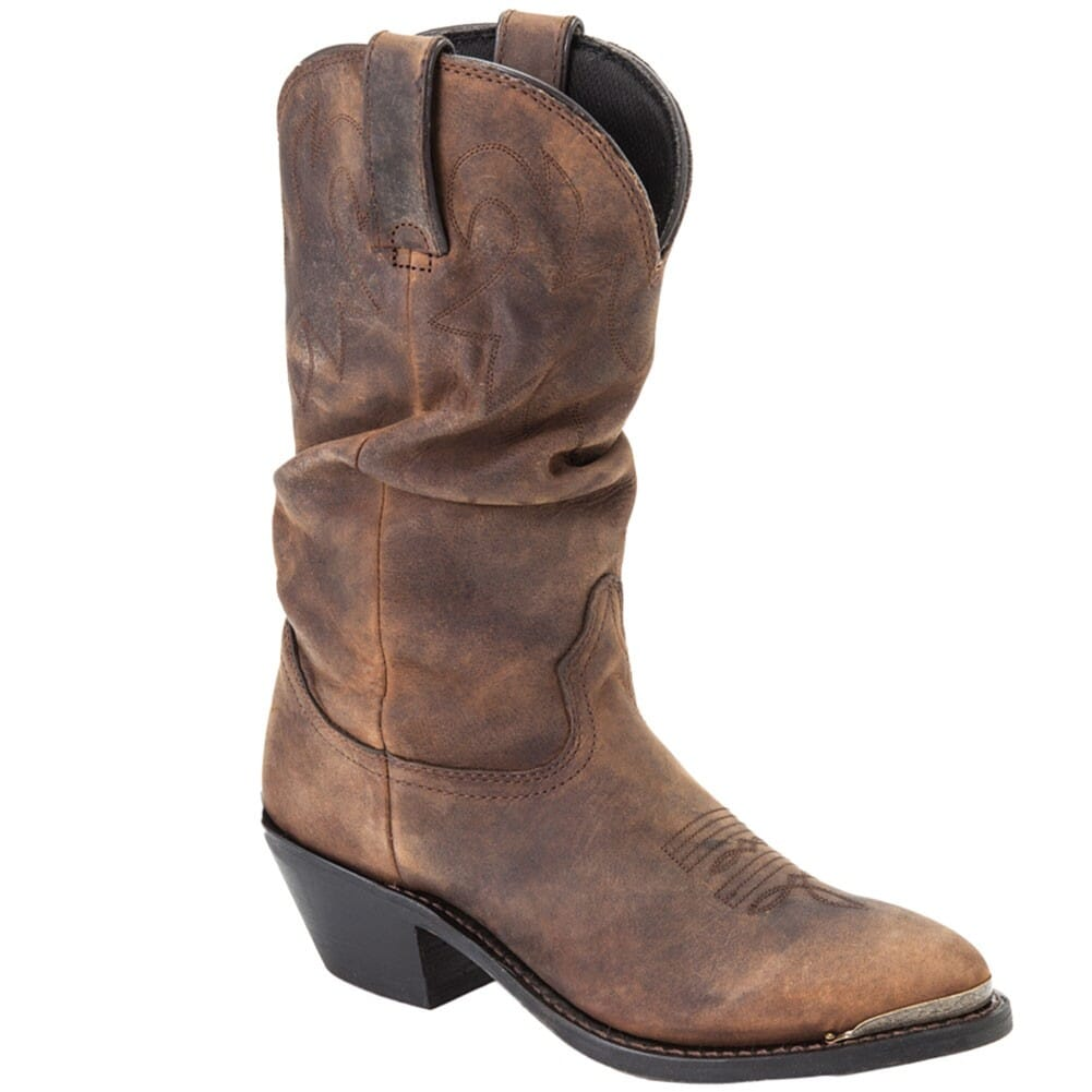 Image for Durango Women's Slouch Western Boots - Brown from elliottsboots