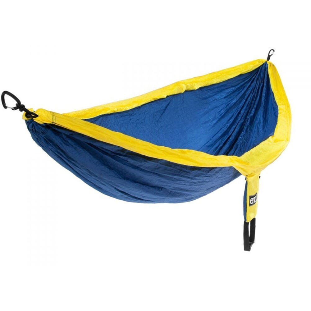 Image for ENO DoubleNest Nylon Hammock - Sapphire/Yellow from bootbay