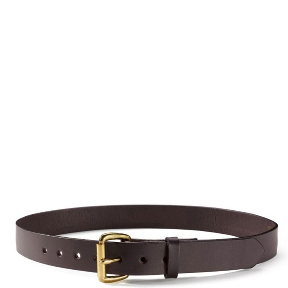 Image for Filson Men's Rugged Leather Belt - Brown from bootbay
