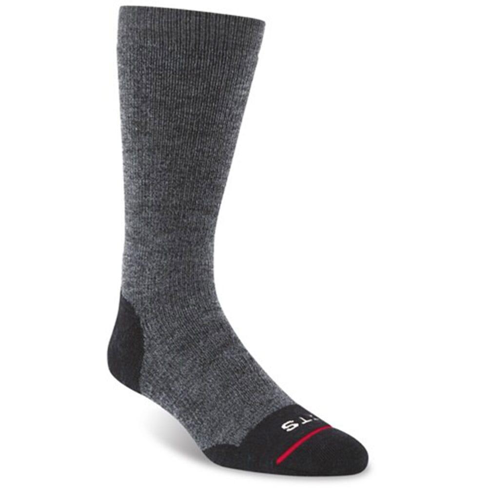 Image for FITS Men's Medium Hiker Crew Socks - Coal from bootbay