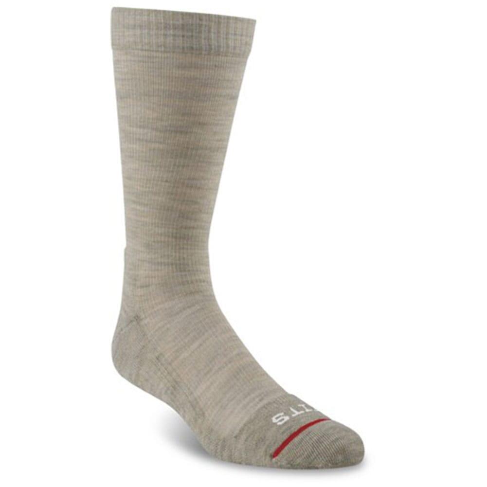 Image for FITS Men's Medium Hiker Crew Socks - Stone from bootbay