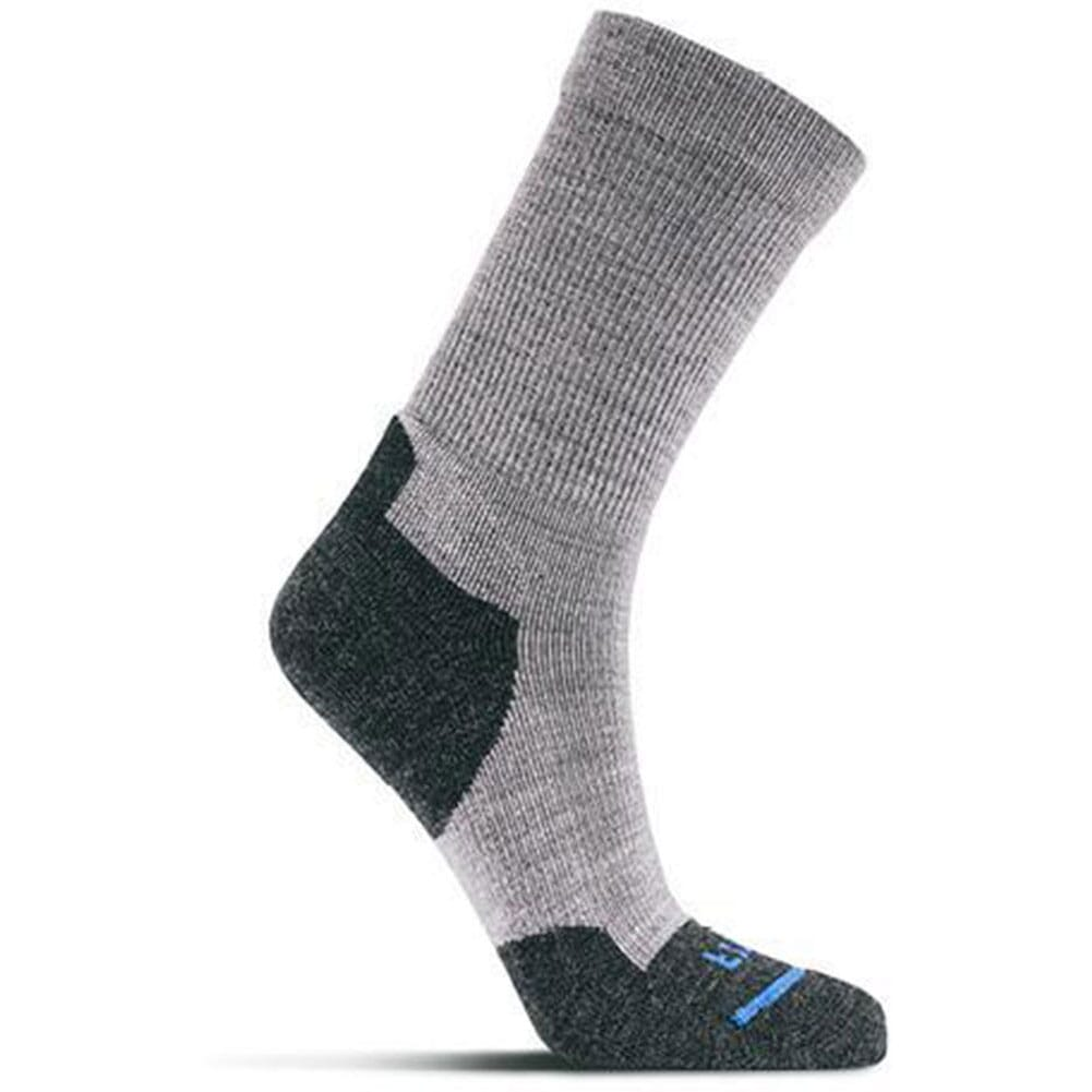 Image for FITS Men's Light Hiker Crew Socks - Light Grey from bootbay
