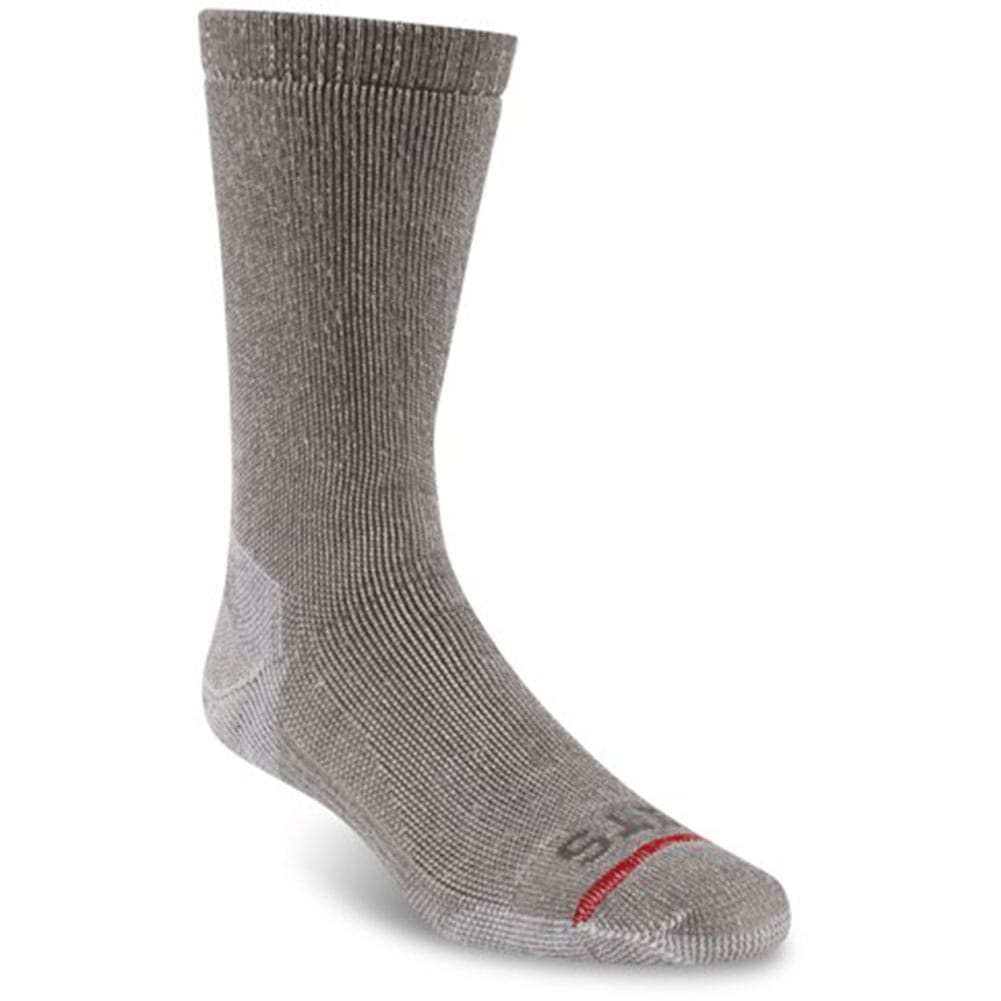 Image for FITS Men's Expedition Rugged Crew Socks - Light Brown from bootbay