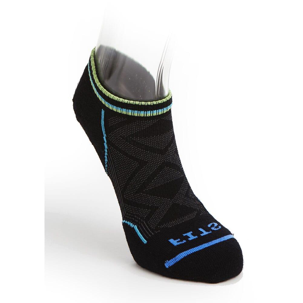 Image for FITS Men's Light Runner Stride Low Socks - Black from bootbay