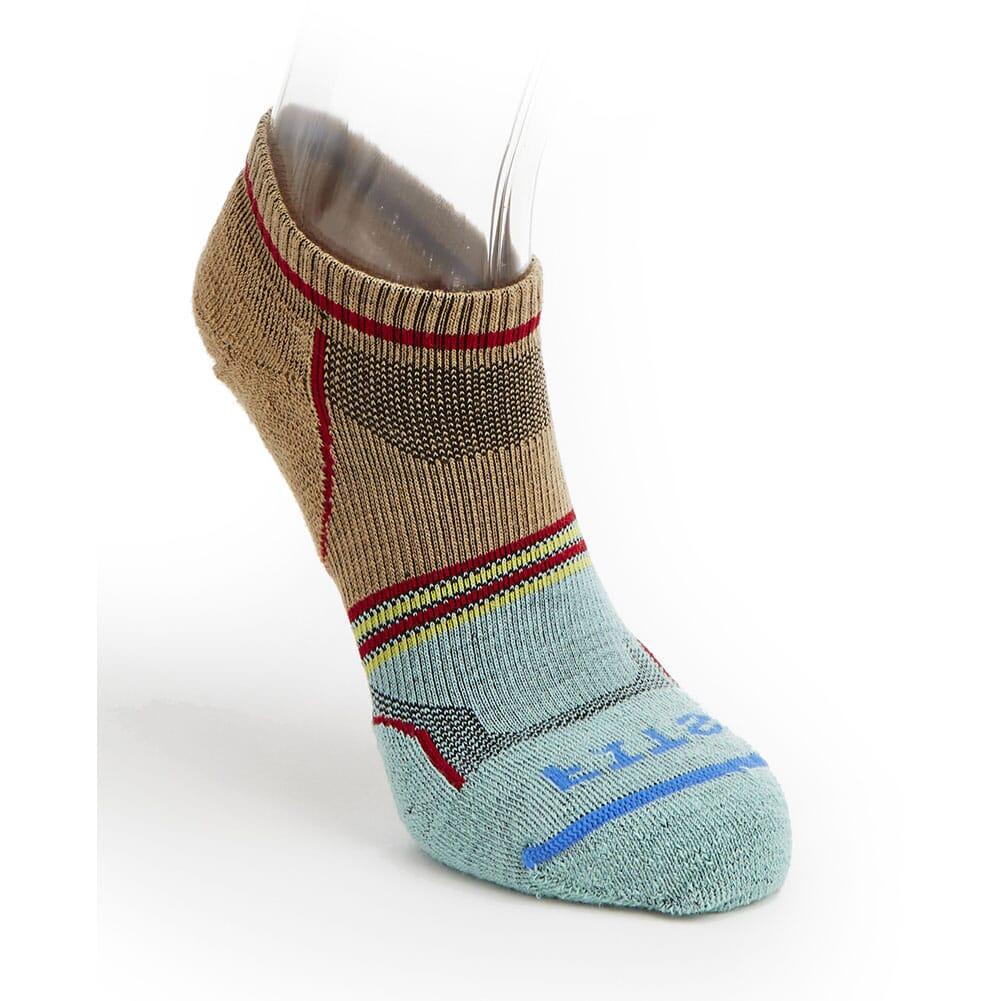Image for FITS Men's Light Runner Split Low Socks - Iced Coffee from bootbay