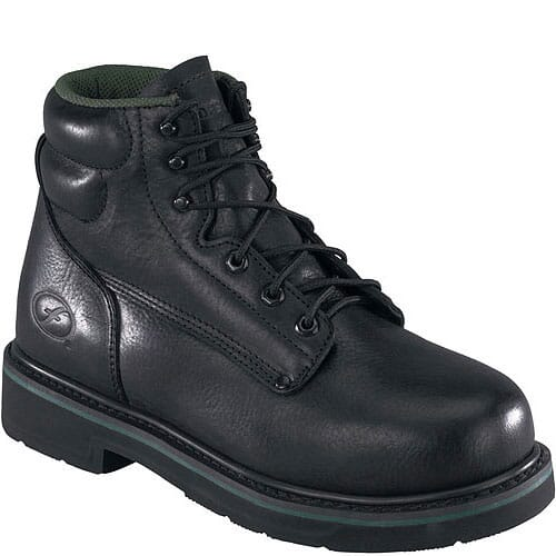 Image for Florsheim Men's Classic Safety Boots - Black from bootbay