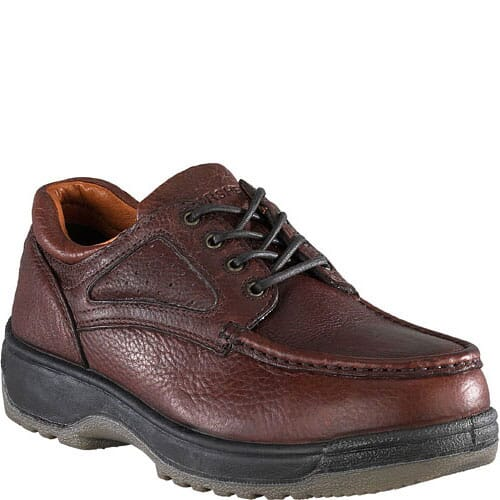 Image for Florsheim Women's Eurocasual Lace Safety Shoes - Dark Brown from bootbay