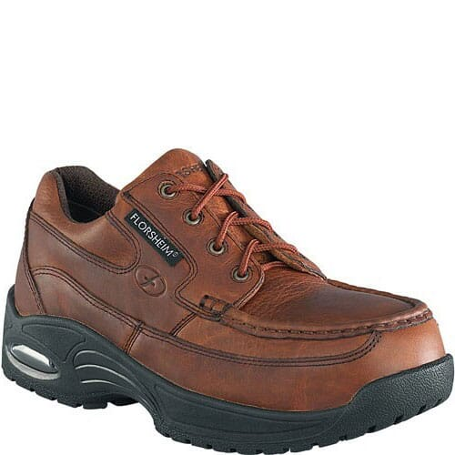 Image for Florsheim Men's Supreme Eurocasual Safety Shoes - Copper from bootbay