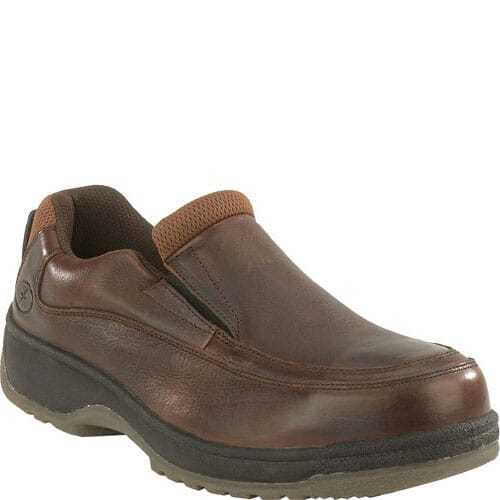 Image for Florsheim Women's Eurocasual SD Safety Shoes - Dark Brown from elliottsboots