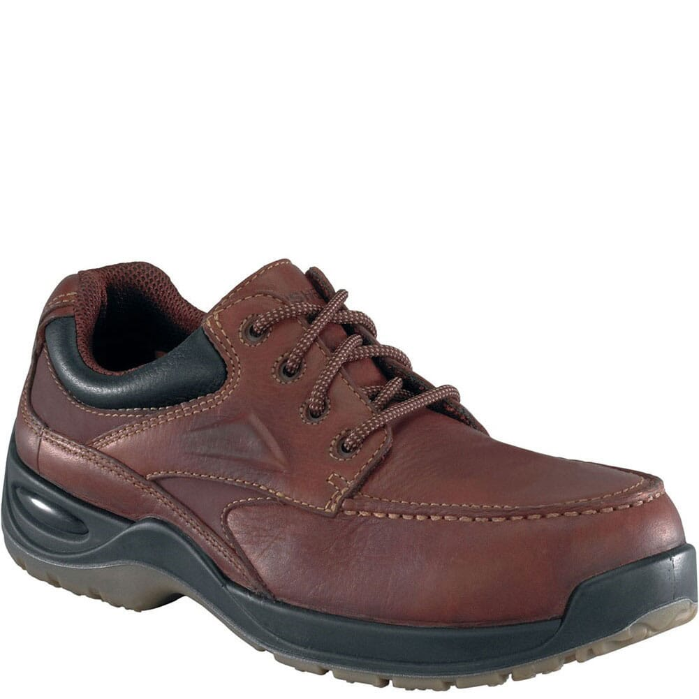 Image for Florsheim Men's SD Safety Oxfords - Brown from bootbay