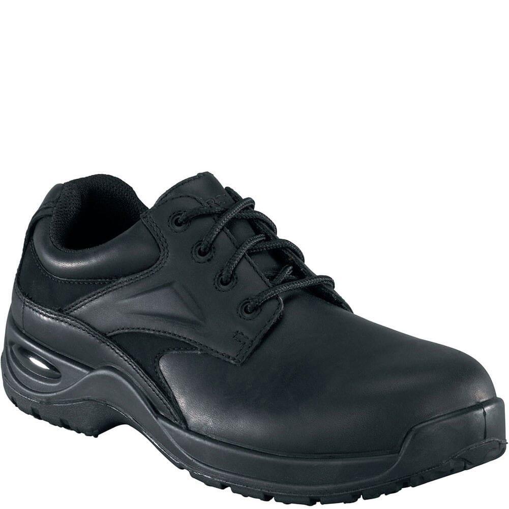 Image for Florsheim Men's Plain Toe Safety Oxfords - Black from bootbay