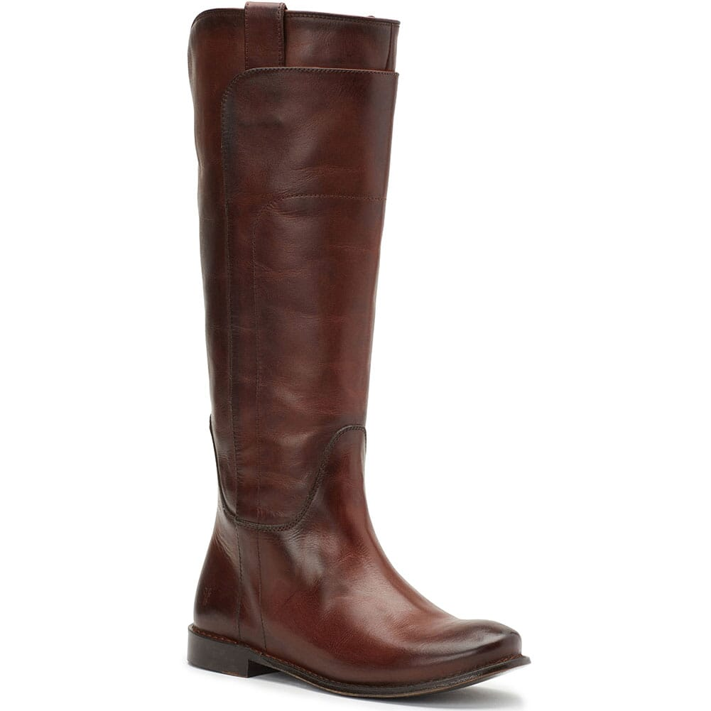 Image for Frye Women's Paige Tall Riding Casual Boots - Redwood from bootbay