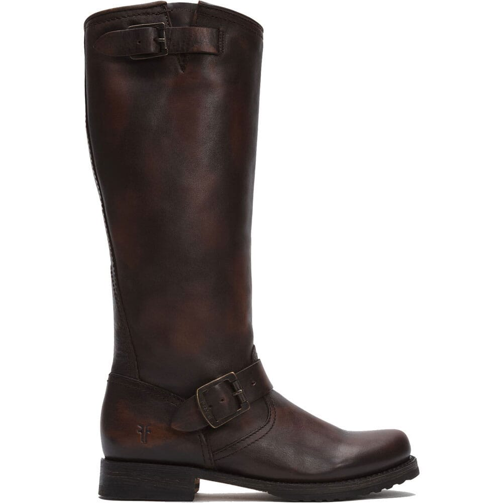 Image for Frye Women's Veronica Slouch Casual Boots - Dark Brown from bootbay