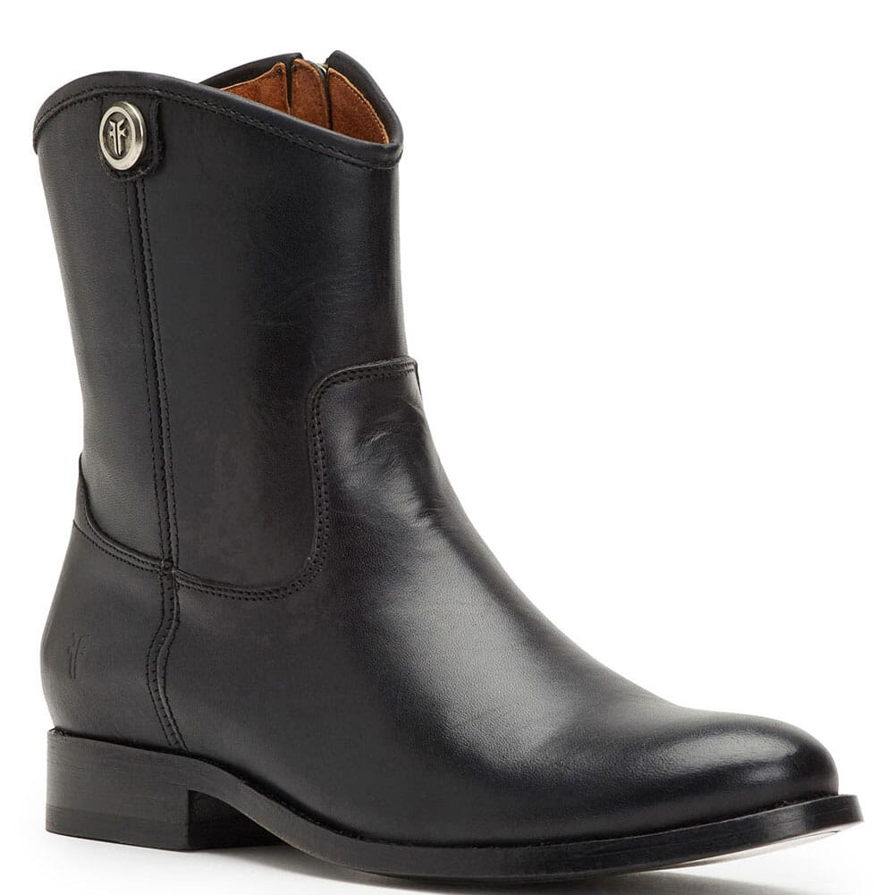 Image for Frye Women's Melissa Button Short 2 Casual Boots - Black from bootbay