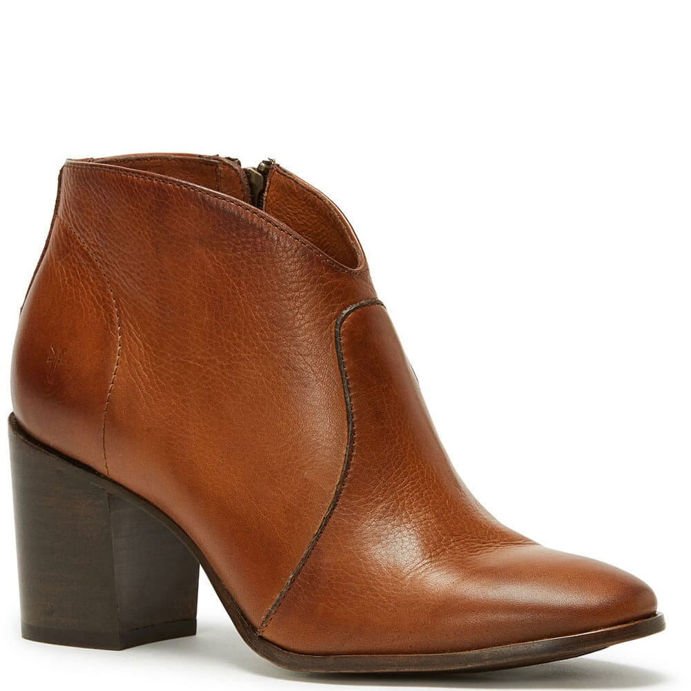 Image for Frye Women's Nora Zip Short Casual Boots - Nutmeg from bootbay