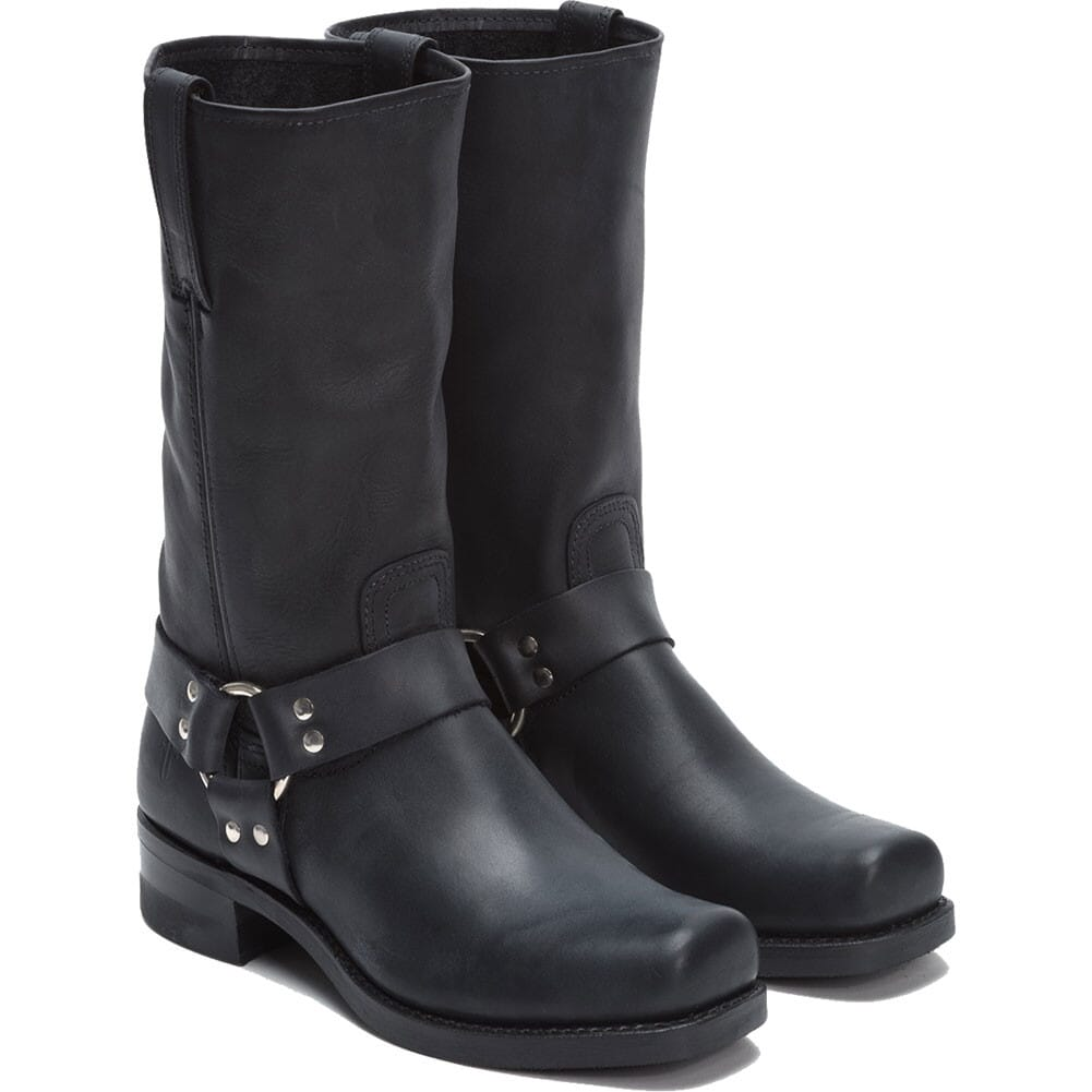 Image for Frye Men's Harness Motorcycle Boots - Black from bootbay