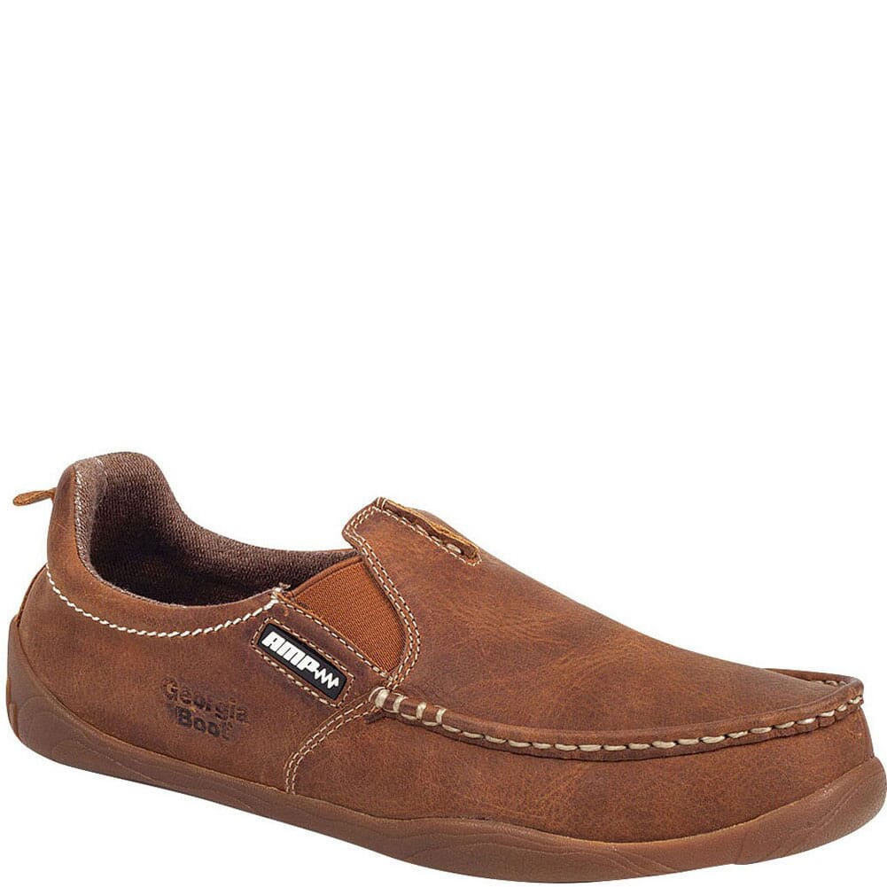 Image for Georgia Men's Cedar Falls Slip-On Casual Shoes - Tan from bootbay